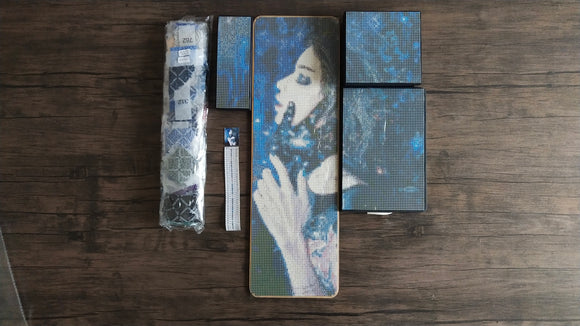 GRAVITY TRANCE by Tanya Shatseva BEAD BOARD WITH DIAMOND PAINTING BOXES & JOURNAL SET  Diamond Painting Tools and Accessories - DIYMoon Shop