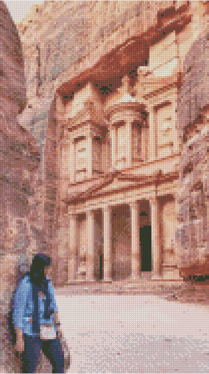 Customer Design - Petra Hidden Temple - DIYMoon Shop