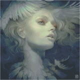I DREAMT I COULD FLY by ANNA DITTMANN (OCTOBER PROMO) Diamond Painting DIY Kit FULL DRILL - DIYMoon Shop