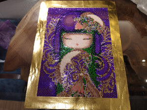 MURASAKI Diamond Painting DIY Kit 30 x 40cm FULL DRILL Rounds, Crystals, Electric Diamonds
