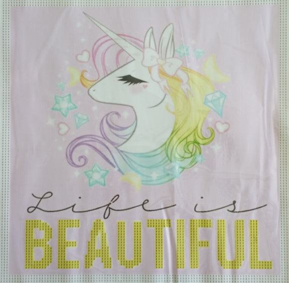 LIFE IS BEAUTIFUL Diamond Painting DIY Kit 36 x 36 CM PARTIAL DRILL Lightning and Electric Diamonds