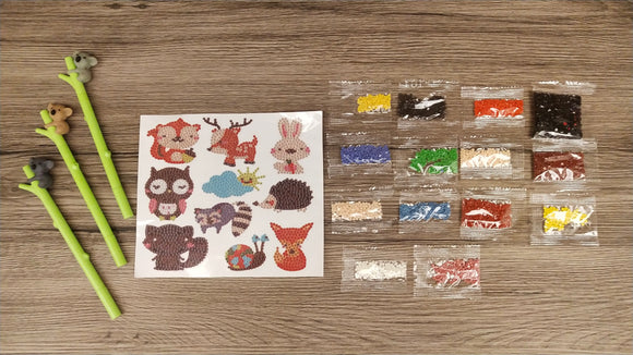 ANIMALS DIAMOND PAINTING SET - DIYMoon Shop