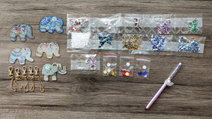 ELEPHANTS DIAMOND PAINTING SET - DIYMoon Shop