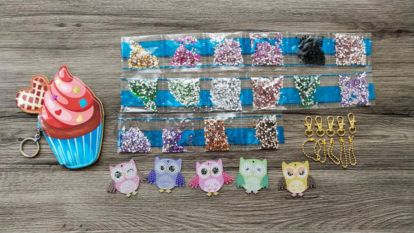 OWLS DIAMOND PAINTING SET - DIYMoon Shop