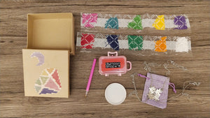 RAINBOW PUZZLE DIAMOND MOON BOX - DIYMoon Shop