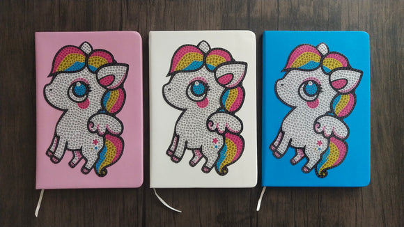 CRYSTAL UNICORN JOURNAL - DIYMoon Shop