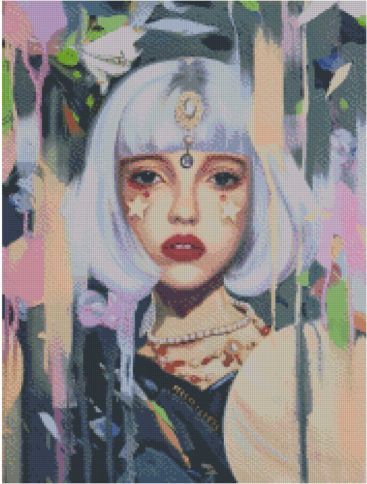 THE FORTUNE TELLER by LIOBA BRÜCKNER Diamond Painting DIY Kit FULL DRILL - DIYMoon Shop