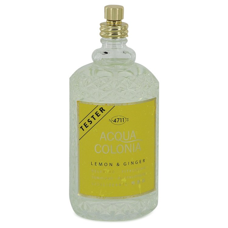 4711 Acqua Colonia Lemon & Ginger Eau De Cologne Spray (Unisex Tseter) By Maurer & Wirtz