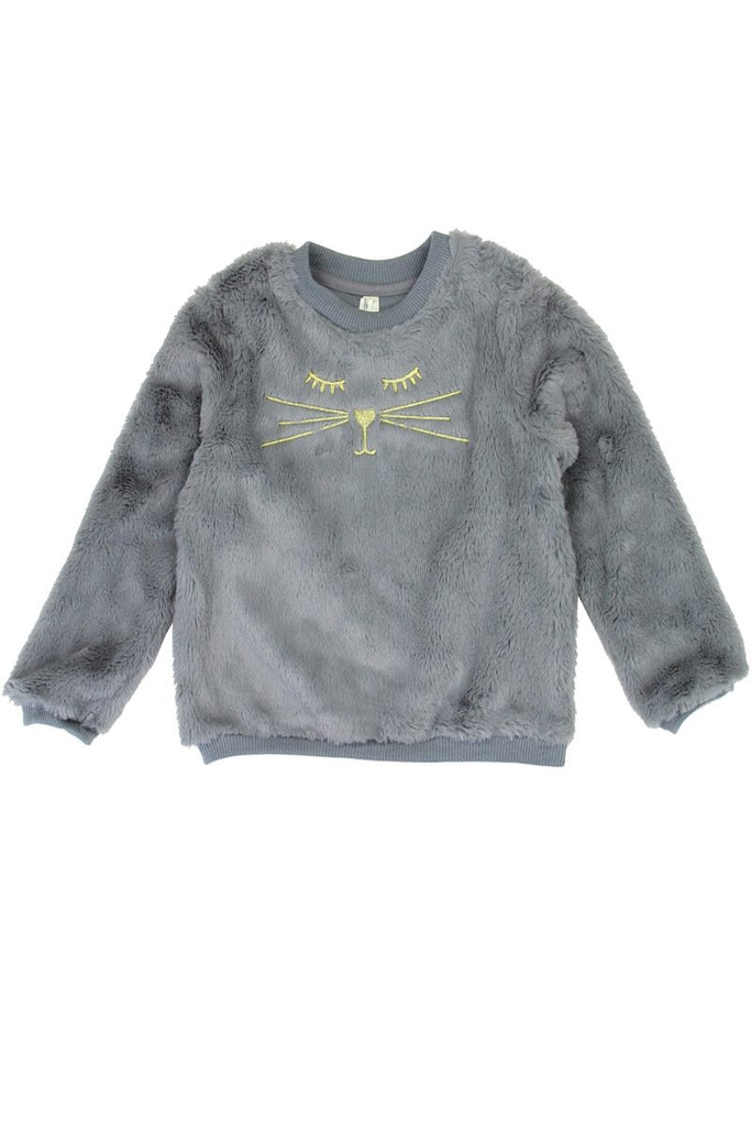 Girls love @ first sight 2-4t cozy pullover - Flix Shopping