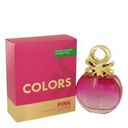 Colors Pink Eau De Toilette Spray By Benetton