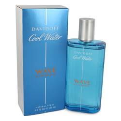 Cool Water Wave Eau de Toilette Spray By Davidoff