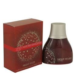 Spirit Night Fever Eau De Toilette Spray By Antonio Banderas