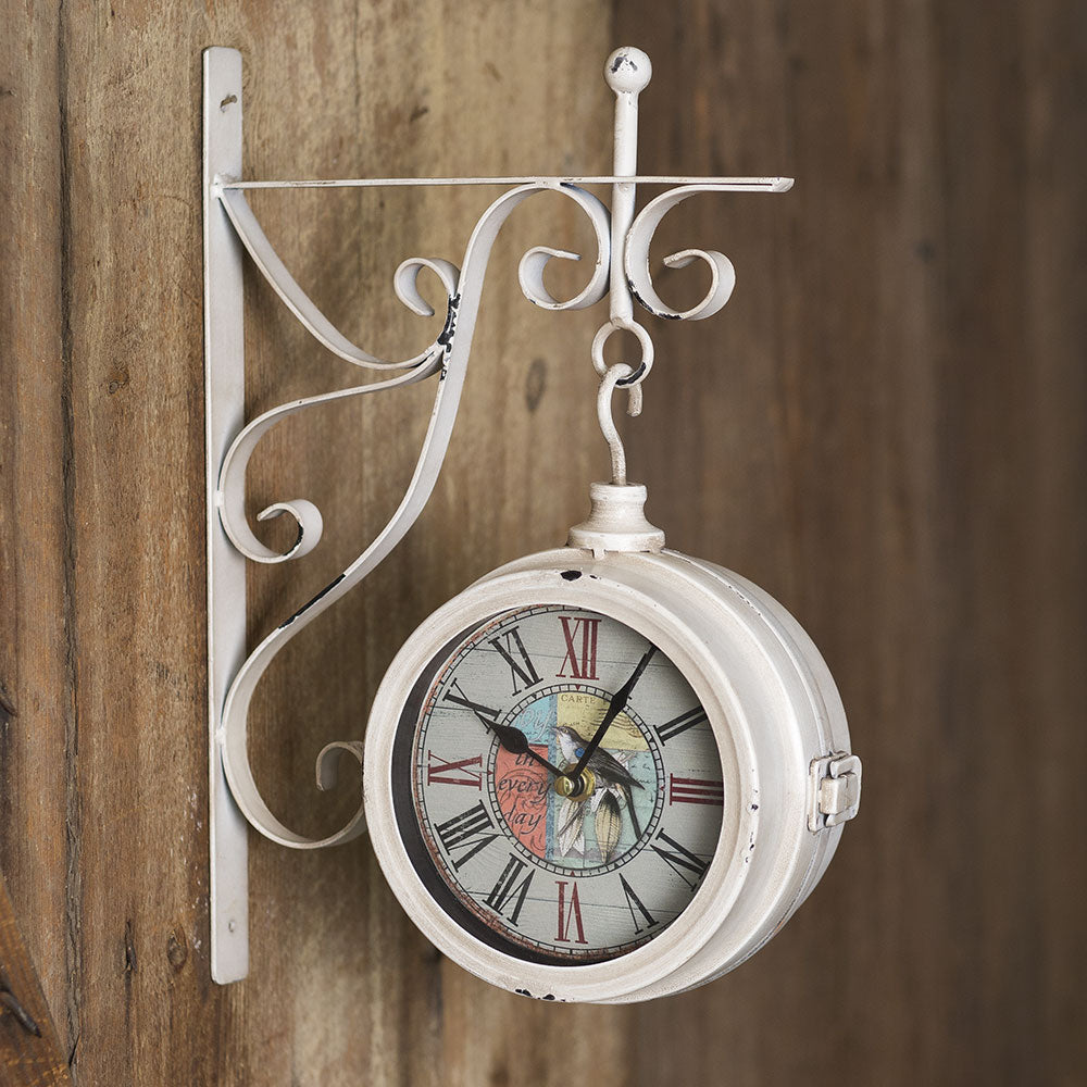 """Joy In Every Day"" Wall Pendant Clock"