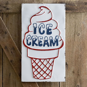 """Ice Cream"" Sign"