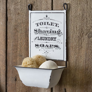Hanging Farmhouse Soap Dish