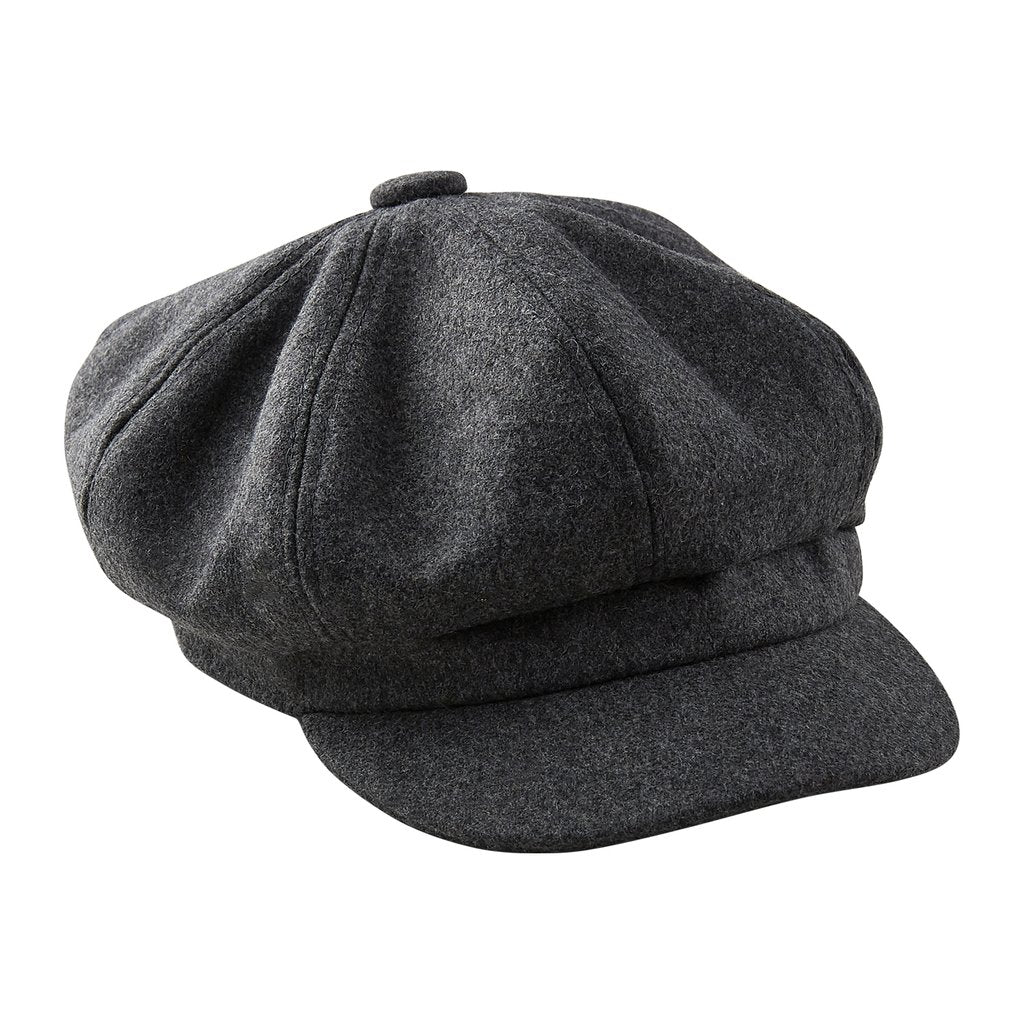 Gray Newsboy Cap 810409