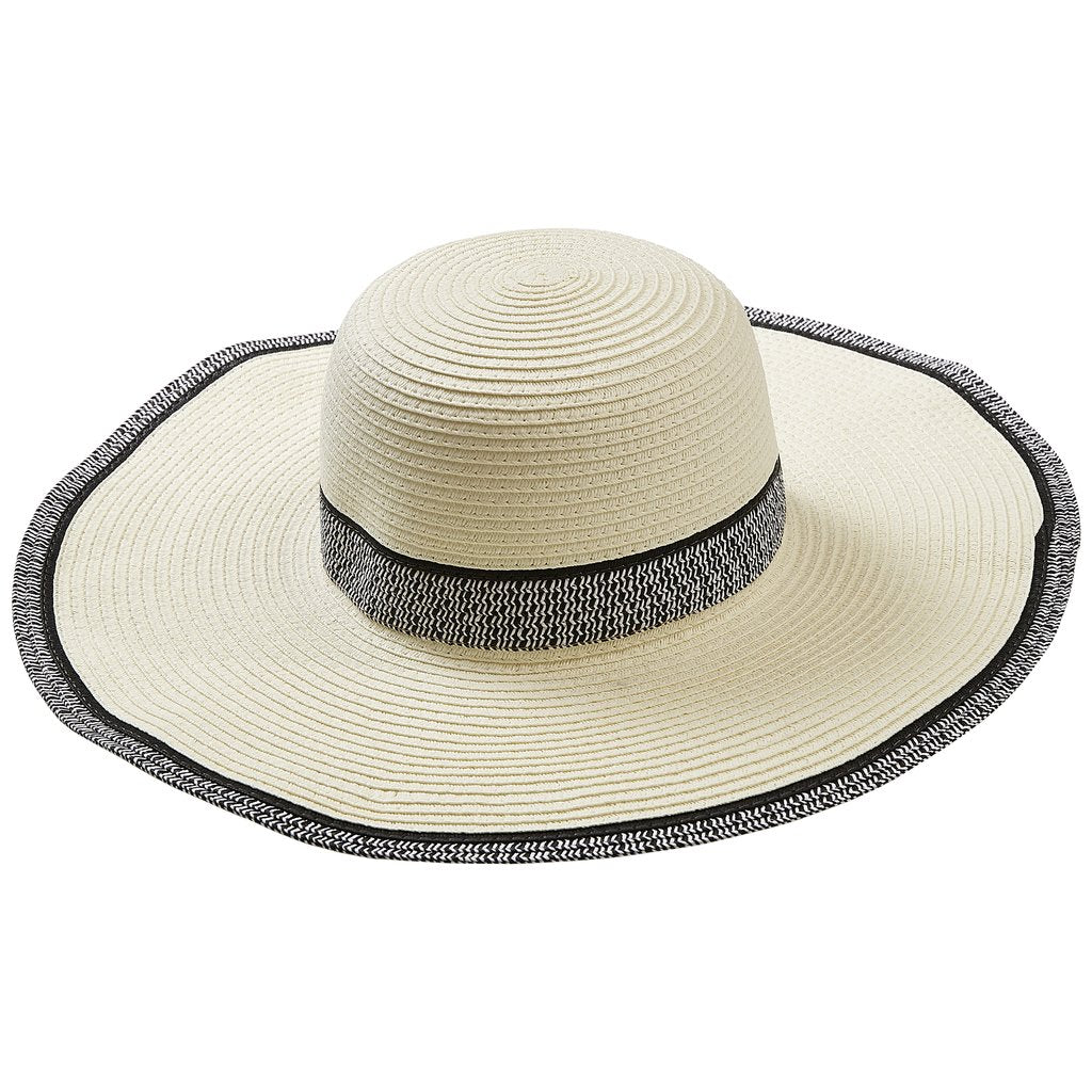 White Newport Sun Hat 810761