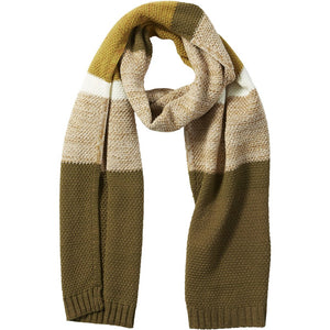 Hunter Willa Colorblock Cableknit Scarf 810851