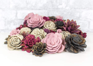 Sola Wood Flowers - Dark Desire Assortment