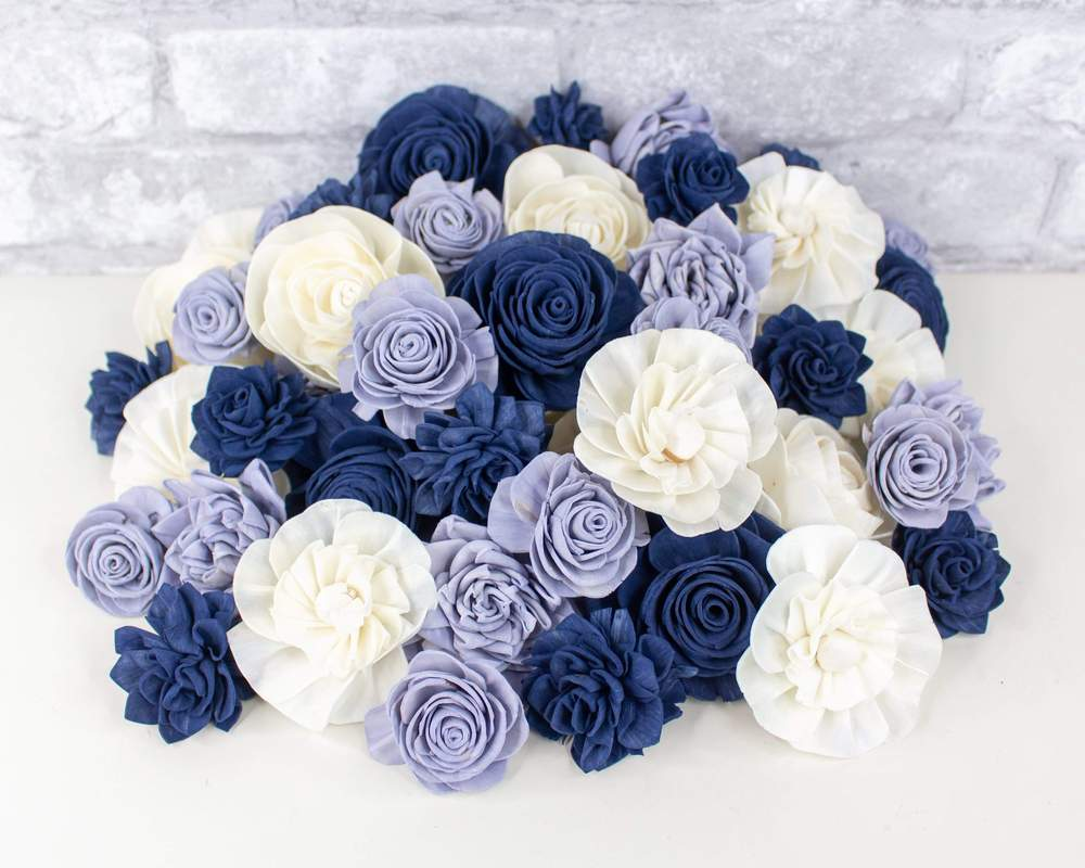 Sola Wood Flowers - Ocean Mist Assortment
