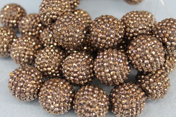22mm Rhinestone Ball RB14