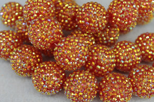 22mm Rhinestone Ball RB15