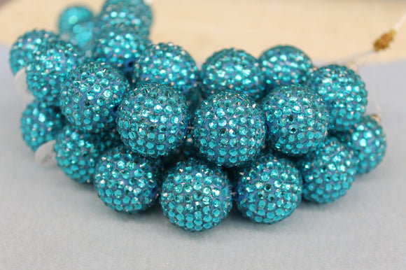 22mm Rhinestone Ball RB22