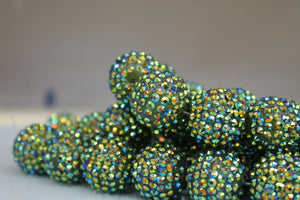22mm Rhinestone Ball RB28