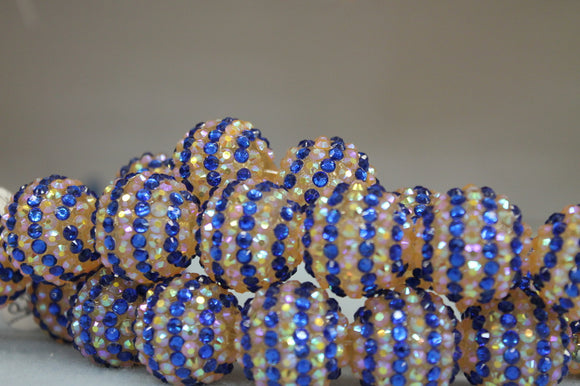 22mm Rhinestone Ball RB29