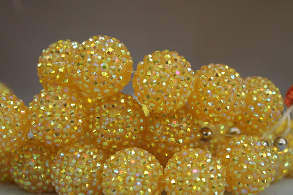 22mm Rhinestone Ball RB30