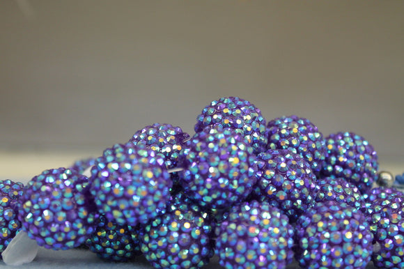 22mm Rhinestone Ball RB32