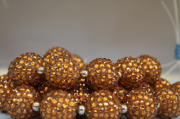 22mm Rhinestone Ball RB33