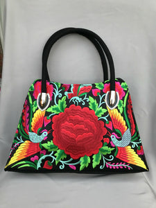 Embroidered Shoulder Purse EP70