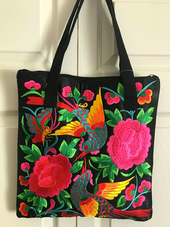 Embroidered Tote T1