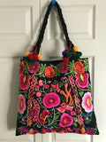 Embroidered Tote T4