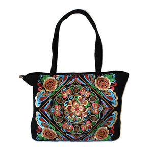 Embroidered Tote