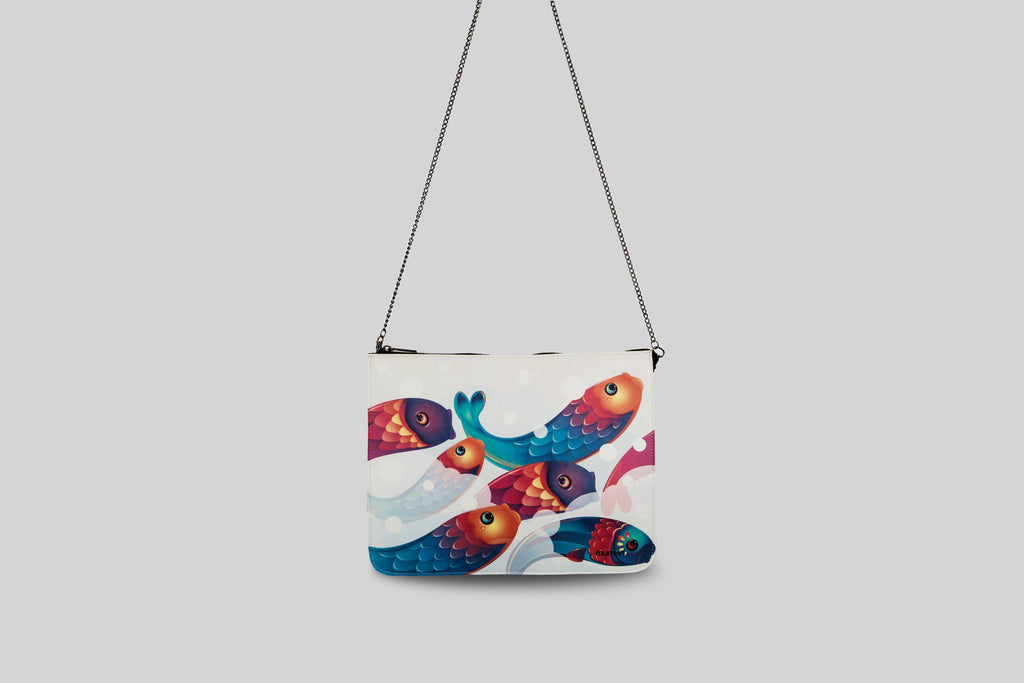 mujer-casual-clutch-peces
