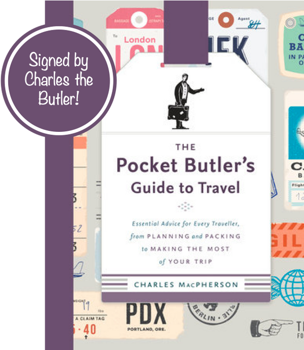Signed Copy - The Pocket Butler's Guide to Travel