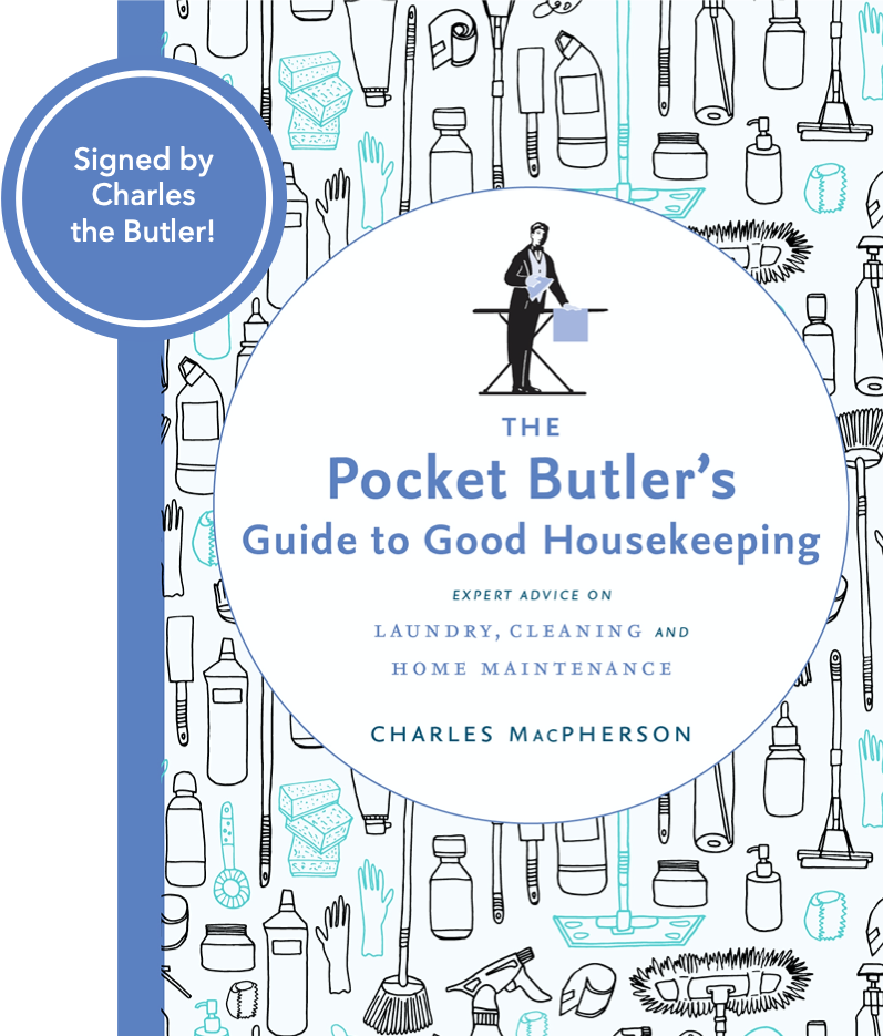 Signed Copy - The Pocket Butler's Guide to Good Housekeeping
