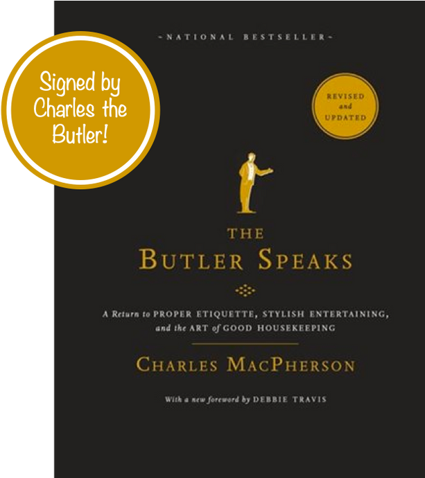 Signed Copy - The Butler Speaks by Charles MacPherson