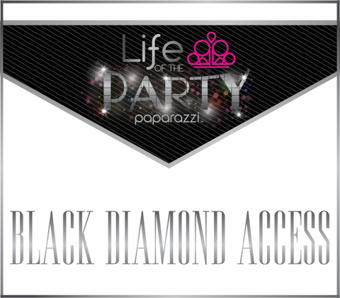 Paparazzi Life of the Party - Black Diamond
