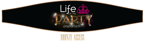 Life of the Party - bronze - Paparazzi jewelry award