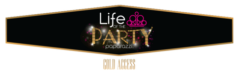 Life of the Party - gold access - Paparazzi jewelry award