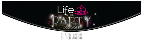 Life of the Party - silver access - Paparazzi jewelry award