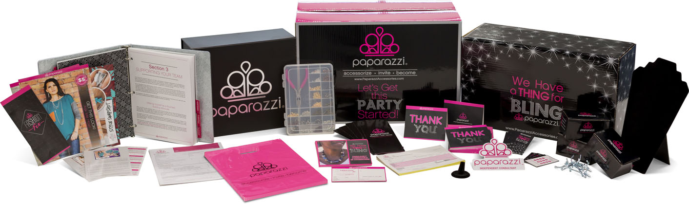 Paparazzi Jewelry starter kit - Small home party kit