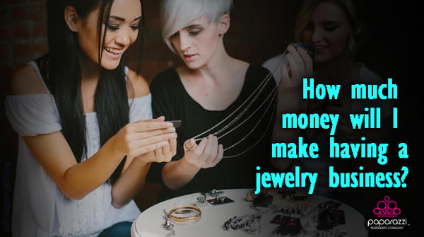 How much money will I make having a jewelry business?