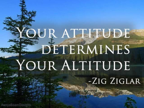 Your Attitude Zig Ziglar Quote