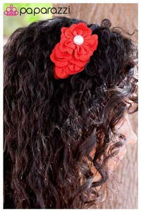 Gimme a Bunch - Red - Paparazzi Jewelry headband