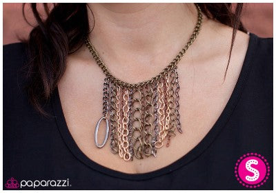 For the Fringe of It - Paparazzi necklace