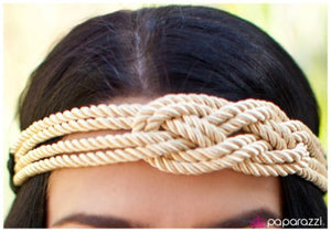 Cream of the Crop - Paparazzi Jewelry Hippie Headband